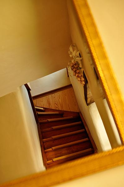 Lehmgefühl - Treppenaufgang