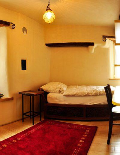 Lehmgefühl - Einzelzimmer Holzart