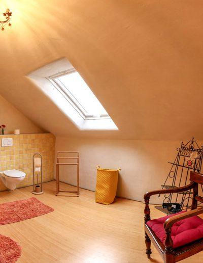 Lehmgefühl - Badezimmer oben